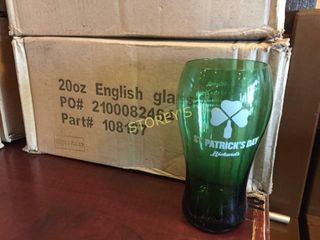 12 New St Patty s Rickards Beer Glasses