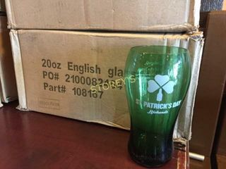 6 New St Patty s Rickards Beer Glasses