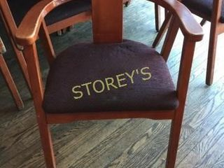Cushioned Dining Arm Chair