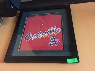 Oakville A s Framed T shirt
