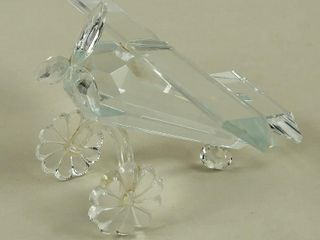 Small Crystal Airplane