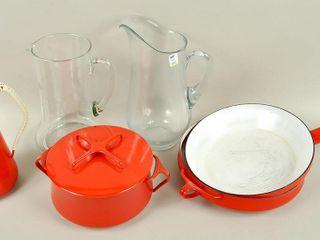 Dansk  Finland  Cookware   Glass Pitchers