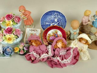 Assorted Ceramic lot with Figurines
