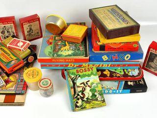 Huge lot of Vintage Board Games