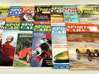 13 1950s   60s Sports Car Magazines