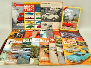 Various Car Magazines with Car   Driver