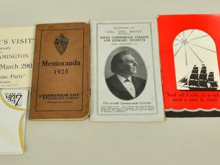 Small Booklets   Paper Collectibles