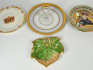 Assorted China   Glass with Fitz   Floyd
