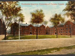 Antique Postcard U of T Residence 1914