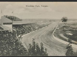 Antique Postcard Woodbine Park Toronto