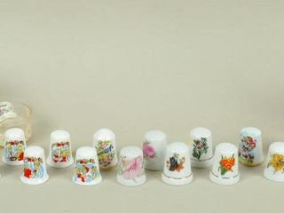 Collectible Thimbles with Hummel Real Enamel
