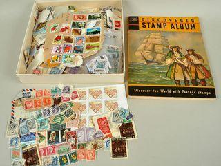 Postage Stamps   Album
