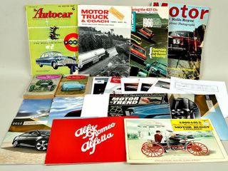 Auto Brochures with The Vintage Motor Car