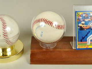 2 Blue Jays Baseballs with All Stars