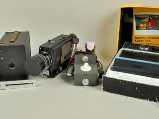 Camera lot with Kodak EK6 Instant Camera