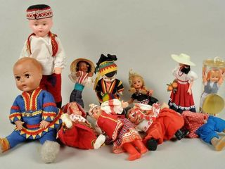 Assorted Tourism Dolls