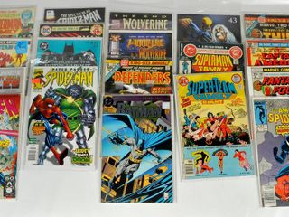 19 Comic Books with Spiderman