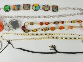 Costume Jewelry with large Bangle