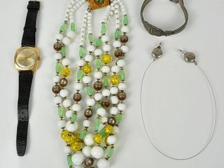 Costume Jewelry with Necklace