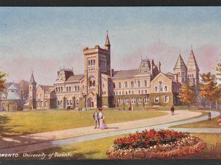 Antique Postcard University of Toronto