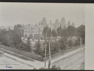Antique Postcard Toronto General Hospital