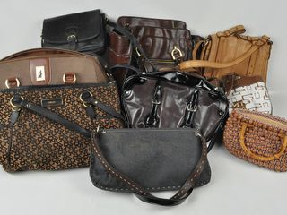 Assorted lot of ladies purses handbags