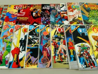 20 Comic Books with Camelot