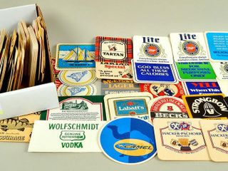 Collectible Paper Advertising Coasters