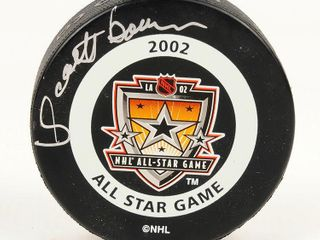 Scotty Bowman Signed NHl 2002 All Star Puck
