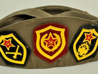 Russian Cap with Pins