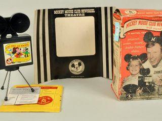 Mickey Mouse Clip Newsreel in Original Box