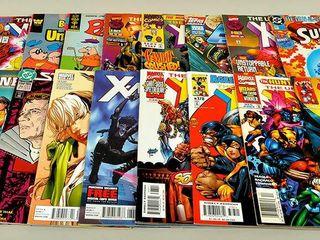 20 Comics with X Man and Star Trek