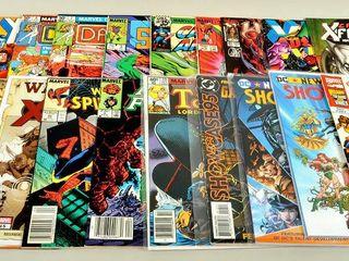 20 Comics with X Men   Superman