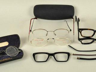 Assorted Vintage Antique Eyeglasses