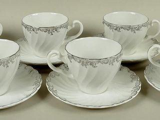 6 Johnson Bros  Cups   Saucers