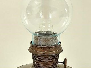 Aladdin lamp Model 11B with Double Chimney