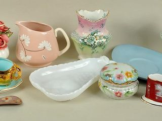 Assorted Glass   China with Royal Winton