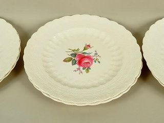 6 Spodes Jewel Plates