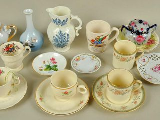 Assorted China lot with Royal Worcester Pitcher