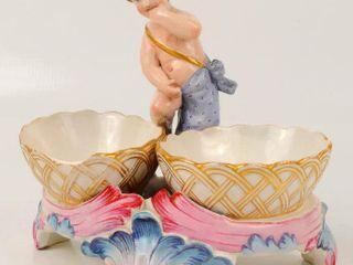 Meissen Porcelain Master Salt Cellar