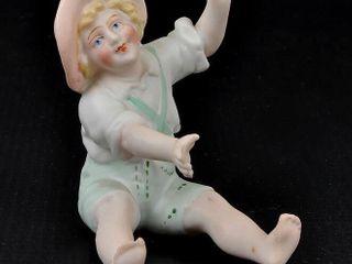 Boy Bisque Figurine