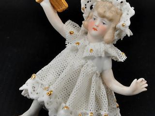 Girl Bisque Figurine