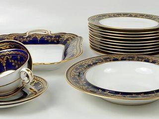 Partial Spode China Dish Set