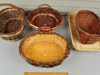 Assorted Woven Baskets