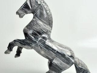 Rearing Stone Unicorn