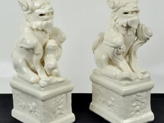 Two Asian Figurines  Made in China