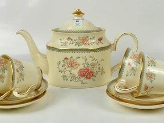 Minton  Jasmine  Partial Tea Set