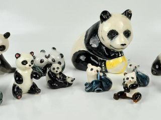 Ceramic Panda Collection with Beswick