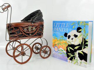 Doll Carriage   Panda Book