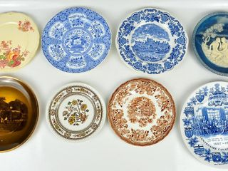 8 Plates with Canadian Centennial